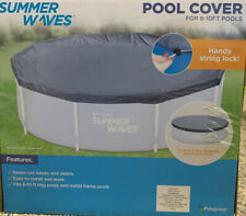 Summer Waves 8-10 ft Pool Cover - FREE SHIPPING