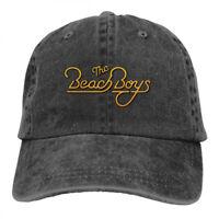 The Beach Boys Gold Logo Cowboys Snapback Baseball Hat Adjustable Cap