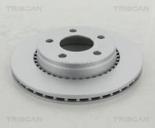 2x Bremsscheibe TRISCAN 812029145C hinten für AUDI