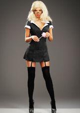 Womens Black Saucy Secretary Costume