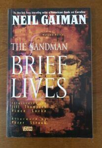 Sandman Vol 7 Brief Lives #41-49 Gaiman DC Vertigo Comics TPB GN Graphic Novel