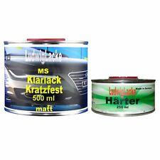 0,75 Liter MS Klarlack MATT SET 0,5 Klarlack 0,25 Härter Autolack Made in German