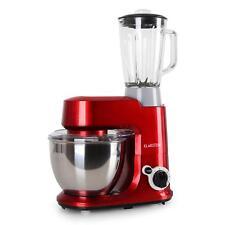 Klarstein Carina Rossa set robot cocina amasadora vaso mezcladora licuadora 1 5L