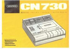Grundig manuale per CN 730 in tedesco