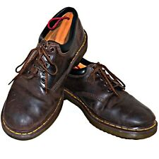 Dr Doc Martens 8053 Gibson Oxford Gaucho Crazy Horse Leather Brown Air Wair 14 M