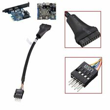 20 Pin USB 3.0 female to 9 Pin Male USB 2.0 Motherboard Cable Adapter 480Mbps