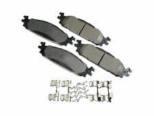 For 2009-2018 Ford Flex Brake Pad Set Front Akebono 25424MM 2010 2011 2012 2013