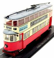 LONDON FELTHAM TRAM 1931 1:87 bus model car die cast cars diecast toy miniature