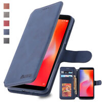 For Xiaomi Redmi 6 Pro 6A 7 Note 5/6/7 Leather Wallet Case Flip Cover Card Stand