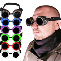 1x Motorcycle Biker Riding Day Night Driving Padded Sun Glasse Goggle All Color