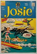 Josie and the Pussycats #36 Archie Comics 1968 FN/FN+ Very nice Silver Age Comic