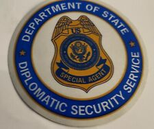 DEPARTMENT OF STATE, DIPLOMATIC SECURITY SERVICE, SPECIAL AGENT, STICKER