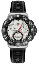 AUTHENTIC TAG HEUER FORMULA 1 CAH1111.BT0714 CHRONOGRAPH BLACK RUBBER WATCH