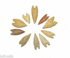 Neolithic swallow tail arrow head projectile stone age tool premium grade