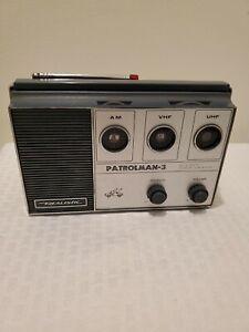 Vintage Realistic Patrolman 3 Model 12-770 Works