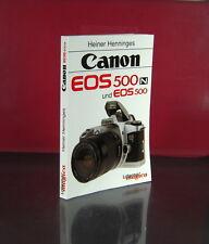 Canon EOS 500N und EOS 500 Heinrich Henninges Buch Book - (25298)