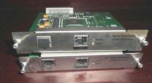 Lot of two Agilent G1369C LAN Interface Card