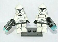 LEGO Star Wars : 2x Clone Trooper - minifig figurine - set 75206 sw910 sw0910