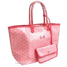 GOYARD Saint Louis PM Tote Shoulder Bag Shopper Pouch Pink GR marker Auth New