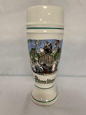 Pilsner Urquell Beer Mug Stein Glass