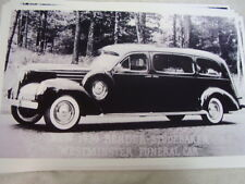 1939 STUDEBAKER FUNERAL CAR HEARSE 11 X 17  PHOTO  PICTURE