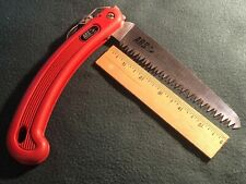 ARS Folding Pruning Saw-Red Handle
