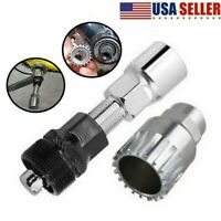 USA Bike Bicycle Crank Extractor Puller Bottom Bracket Remover Removal Tool Set