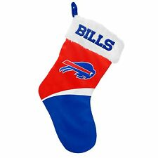 "Buffalo Bills Holiday 17"" Christmas Stocking Team Logo New 2016"