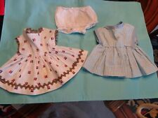Vintage Medium Tiny Tears Sized 2 Dress Panties Lot