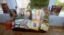 13 Vintage 1968-1972 American Girl Co-Ed Ingenue 'Teen Magazines  Rare & Great!