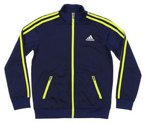 Adidas Youth Separates Training Track Jacket, Navy / Yellow