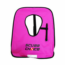 Scuba Diving Snorkeling Adult Purple Snorkel Vest w/ Name Box, Size Large