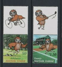 Norfolk Island - 2002,Du Sud Pacific Mini Jeux,Hiboux,Oiseau Ensemble - MNH - Sg