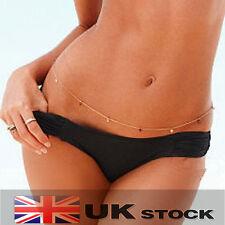 Sexy Body Belly Waist Chain Bikini Crossover Beach Harness Necklace C0008