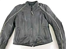 HARLEY DAVIDSON FXRG WOMEN'S WATER RESISTANT 3 IN 1 LEATHER JACKET M 98520-05VW