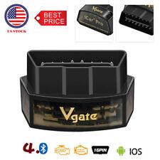 Vgate iCar Pro Bluetooth 4.0 ELM327 OBD2 Scanner Diagnostic Tool Code Reader US