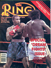 "The Ring Boxing Magazine April 1986 ""Dream Fights"" Issue EX 060616jhe"
