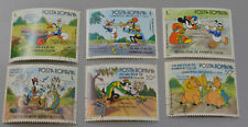 Disney Romania Postage Stamps 50th Anniversary Annimation