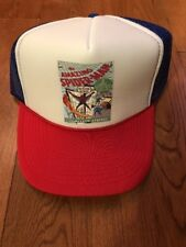 Amazing Spiderman 1 Key Comic Cosplay Hat Cap Adult Size Fits All New Rare
