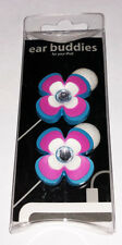 Crystal Flower Earphone Charm - Earbud Cord Charm - Ear Buddies New in package