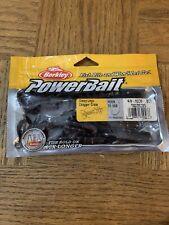 Berkley Powerbait Chigger Craw 4 IN BlCk Red Fleck