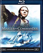 MASTER AND COMMANDER: AL OTRO LADO DEL MUNDO de Peter Weir. Tarifa plana envío E