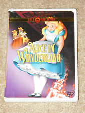 ALICE IN WONDERLAND Disney GoldCollection NEW DVD FREE POST mmoetwil@hotmail.com