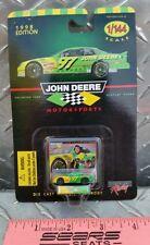John Deere #97 Chad Little 1/144th NASCAR die cast car ford Taurus very tiny car