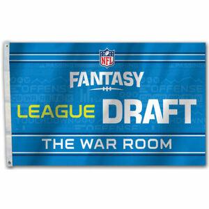 Fantasy Football League Draft Day Flag