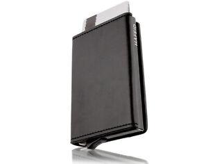 Kartenetui mit RFID Schutz - mini Geldbörse  Portemonnaie Geldbeutel slim wallet
