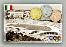 Rome 1960 Olympic Medals. Olympic Stadium. Italy