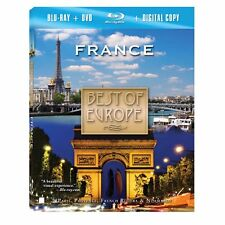 Best Of Europe - France (Blu-ray Disc, 2009) Plus DVD