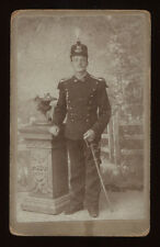 French Army officer CDV Photographie dy Bugnon Eugene Durussel