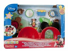 Fisher-Price Mickey Mouse Camp Playset - Brand New